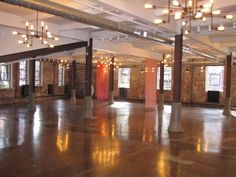 Senate Garage in Kingston, NY. Industrial and exposed brick. up to 450 guests.