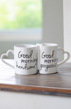Start off every morning in the best way possible with a cup of joe in these adorable coffee mugs.