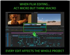 Small decisions make a large impact. #filmmaking #postproduction #editing #PremierePro #Adobe