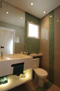 Banheiro  projeto de www.priciladalzochio.com.br