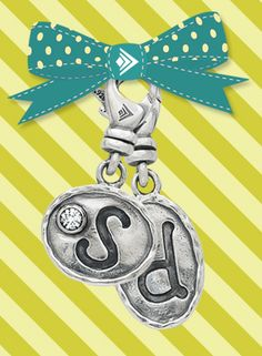 Silpada charms...These make great teacher gifts!