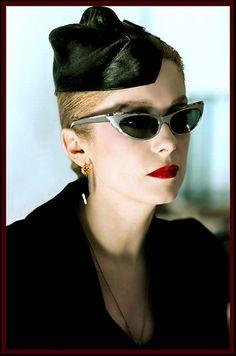 Catherine Deneuve #The #Hunger #sunglasses