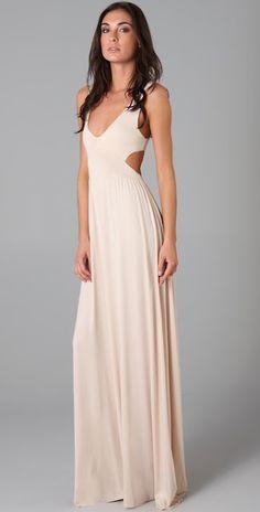 rachel pally cut out dress --- for a ball... Gotta get tan!!