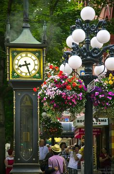 Vancouver Steam Clock