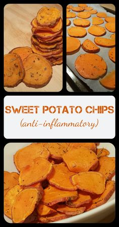 Movie night snacks just got a whole lot healthier! Try these sweet potato chips with rosemary and thyme. Great for PCOS!