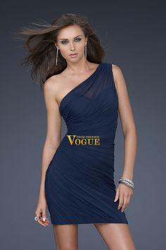 Blue 2011 Collection One Shoulder Sheath/Column Prom Dresses Under 200 USD 98.99 PTPCN6Q1