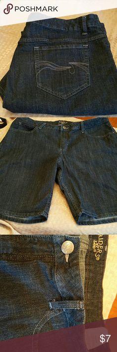 Shorts Dark wash Women's shorts Shorts Jean Shorts