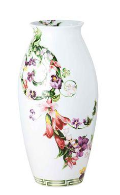 Porcelain Vase, Versace by Rosenthal