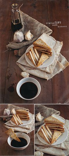 Simple Tofu with Soy Sauce » V.K.Rees Photography