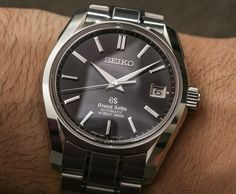 """Grand Seiko Limited Edition SBGH037, SBGH039, SBGA125, & SBGA127 Watches Celebrate The Iconic 62GS - by Ariel Adams - Inspired by the 62GS, come see the new Grand Seikos now at: aBlogtoWatch.com """"Way back at Baselworld 2015, Seiko introduced a load of new watches, many of which were limited-edition models. One such limited-edition watch, even though they're not 'new' at this point, was rather interesting because, in honor of the '55th Anniversary of the first automatic Grand Seiko,'..."""""""