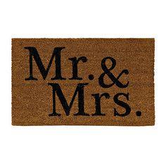 Mr. & Mrs. Doormat
