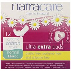 Natracare Ultra Extra Pads w/wings - Normal - 12 CountOur Ultra Extra Pads are a super soft, extra absorbent version of our ultra pads. They have wings to help Sanitary Napkin, Soft And Gentle, It Goes On, Allergy Free, Train Hard, Beauty Care, Biodegradable Products, Sensitive Skin, Health And Beauty