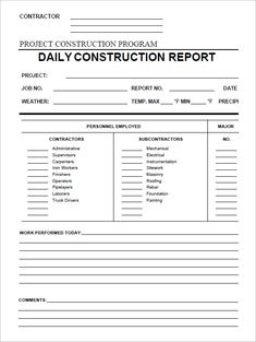 Daily construction report template 25 free word pdf documents college graduate sample resume examples of a good essay introduction dental hygiene cover letter samples lawyer resume examples free resume template for teachers narrative essay thesis examples