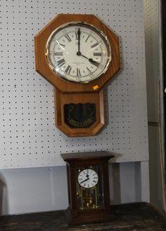 Three Regulator Style Wall Clocks Incl Quot Yamato Clok