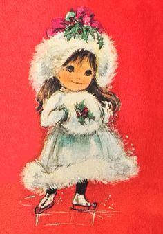 Vintage Christmas card                                                       …