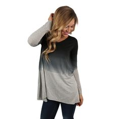 This beautiful ombre top is perfect for all ocassions!