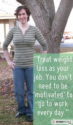Wisdom from Amanda, who lost 105 pounds the healthy way: No gimmicks! | via @SparkPeople #diet #fitness #success #weight #motivation