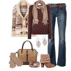 A fashion look from November 2014 featuring Izabel London cardigans, Vero Moda tops and Diesel jeans. Browse and shop related looks.