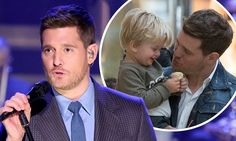 Michael Bublé 'will not sing again' until his son Noah, 3, is better
