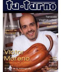 Edición numero 18 de la Revista Tu-Turno con Víctor Moreno en la Portada