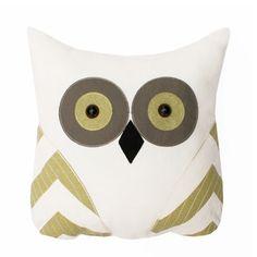 THRO: Tootsie Owl Pillow Green, at 38% off!