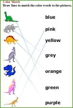 Printable Dinosaur Worksheet Printout