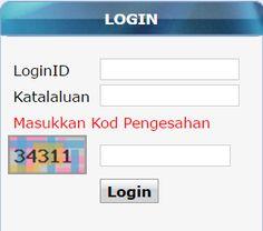 Login EMIS Online Sistem Pengurusan Sekolah SPS