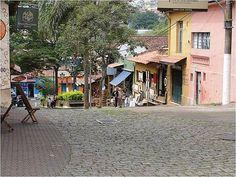 http://www.TravelPod.com - Cobbled Street of Embu in Market area by TravelPod member Zinzan3, from Embu, Brazil