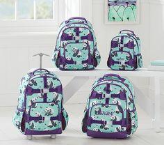 Mackenzie Aqua Panda Backpack