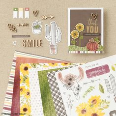 We have the prettiest paper lineup to create the prettiest fall cards. #cardmaking #autumn #crafting Fall Cards, Finding Joy, Close To My Heart, Cardmaking, Scrapbook, Crafty, Paper, Handmade, Diy