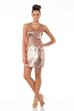 #minidress #pink # glitter #springsummer 2014 #woman #girl #cocktaildress  #partydress #dress #gold #abitoelegante