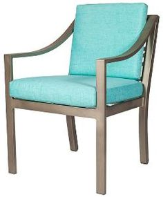 Manhattan Outdoor Arm Chair-Available in a Variety of Finishes. Product in photo is from www.wellappointedhouse.com