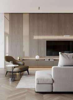 45 Modern Home Entertainment Centers That Will Inspired Living Room Tv, Living Room Modern, Interior Design Living Room, Living Room Designs, Living Spaces, Home Entertainment Centers, Minimalist Home, Interiores Design, Wall Decorations