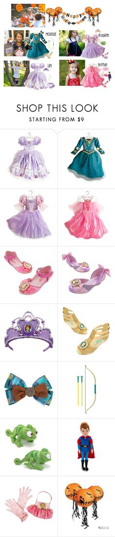 """""""Halloween Party Costumes 10/29"""" by my-creative-mess ❤ liked on Polyvore featuring Merida, Disney, George and Gymboree"""