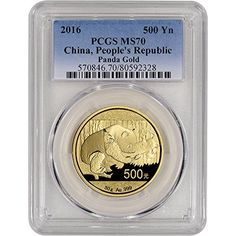 2016 Chinese Pandas Gold Bullion Coins - Almost everyone loves pandas one of the cutest animals. It's part of why the gold Panda coins are collectible.