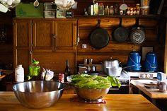 Kitchen at Halfway Hut