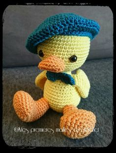 Crochet Animal Patterns, Stuffed Animal Patterns, Crochet Animals, Dinosaur Stuffed Animal, Crochet Amigurumi, Puppets, Objects, Teddy Bear, Bird