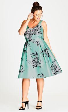 Shop Women's Plus Size  Women's Plus Size Dress   City Chic USA