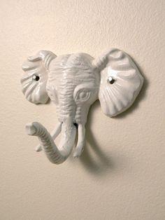sweet elephant wall hook.