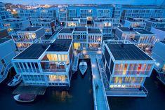 Floating Houses Ijburg, IJburg, 2011 - Architectenbureau Marlies Rohmer