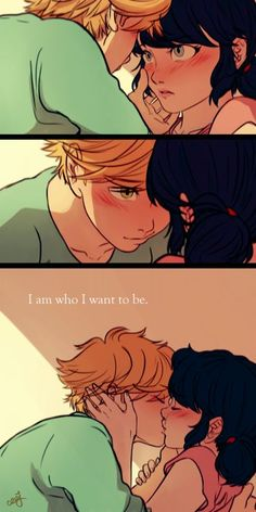 Adrien and Marinette (Miraculous: Tales of Ladybug & Cat Noir) Ladybug E Catnoir, Ladybug And Cat Noir, Ladybug Comics, Lady Bug, Marinette E Adrien, Adrian And Marinette, Photo Manga, Catty Noir, A Cinderella Story