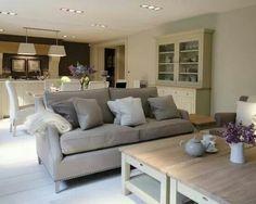 modern cottage interior