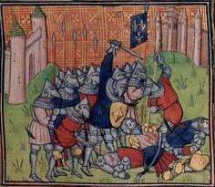 1390-1400 Chroniques de Saint-Denis f