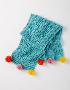 Boden Cable Scarf Arctic Girls Boden, Arctic 35897016 Wave your pompoms in the air, its a snow day! Wrap up in our chunky cable knit scarf and youre all set for fun with its cheeky pompom trim. Keep your eyes open for our matching beret and mittens. http://www.MightGet.com/january-2017-13/boden-cable-scarf-arctic-girls-boden-arctic-35897016.asp