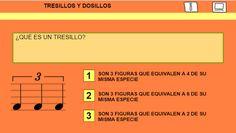 El Lenguaje Musical de Fátima: TRESILLOS Y DOSILLOS