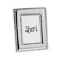 Add some sparkle to each table at your wedding reception with these metal place card holders. Your own handwritten name cards will look truly elegant in these ...