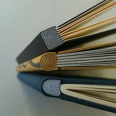 Onion skin binding by Benjamin Elbel #bookbinding