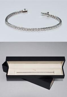 A sparkling new best friend: Laferrière & Brixi tennis bracelet #style #fashion #design #luxury #igetit