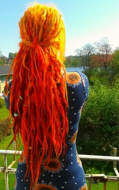 Read about svala's dreadlock journey. She shares her story behind her dreadlocks… Dyed Dreads, Dreads Girl, Locs, Dreadlock Hairstyles, Messy Hairstyles, Pretty Hairstyles, Pretty Dreads, Beautiful Dreadlocks, Dreadlock Mohawk