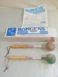 Bongers Handheld Percussive Massage Therapy Tools #Bongers